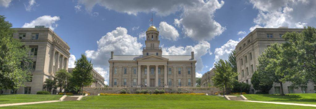 Web Design Iowa City - University of Iowa Old Capitol Building