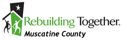 Managing Non-Profit Volunteers - Rebuilding Together Muscatine Logo
