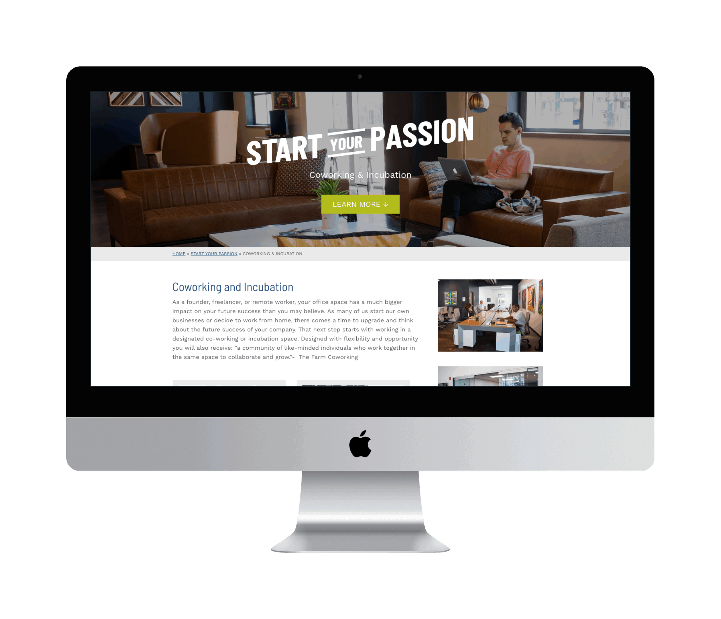 Iowa City Area Development Web Design