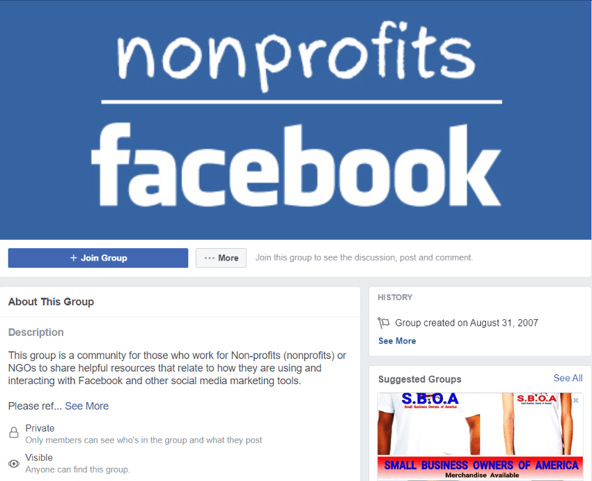 Promoting Content for Non-Profit