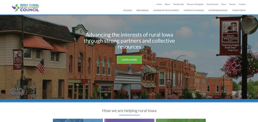 Iowa Rural Development Council HomePage